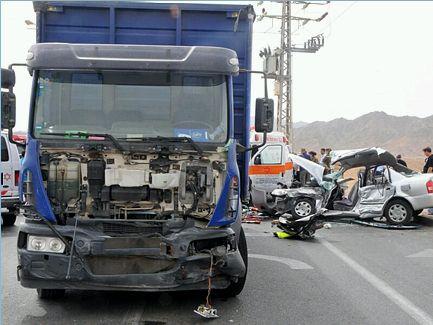 פצוע בינוני בתאונת דרכים בכניסה לעיר