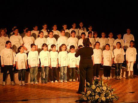 מקהלת 'תל''י הרי אילת' זכתה במקום השני