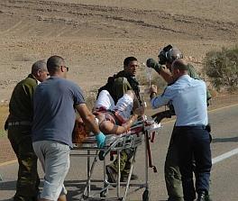 4 תושבי אילת נהרגו בתאונה