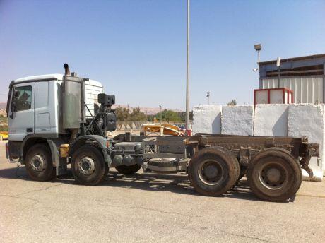 האם נמנע ייצוא משאית 'מרצדס' מזויפת?