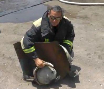 פיצוץ בלון גז באזור התעשייה - אין נפגעים