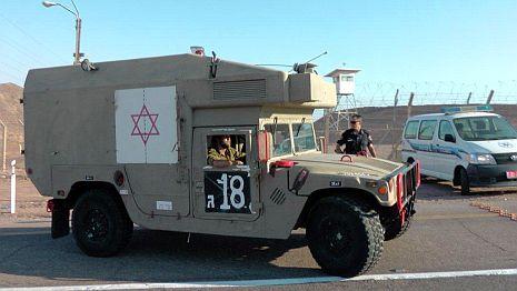 ירי לעבר כוח צה''ל סמוך לאילת - אין נפגעים