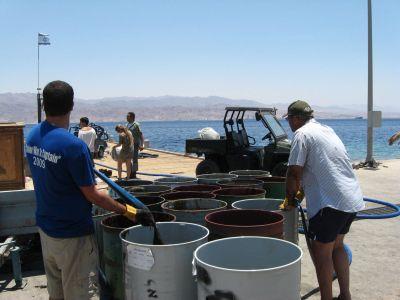וידיאו: תרגיל לטיפול בזיהום ים