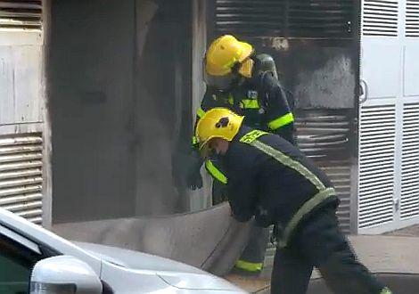 וידיאו: שריפה במלון 'רויאל טוליפ'