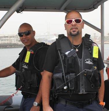 שוטרים אוהבים מים? אוהבים