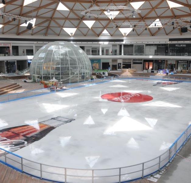'פארק הקרח' נפתח
