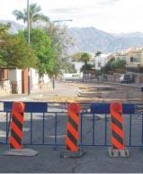 חודש לאחר ההצפות: הרחוב עדיין סגור