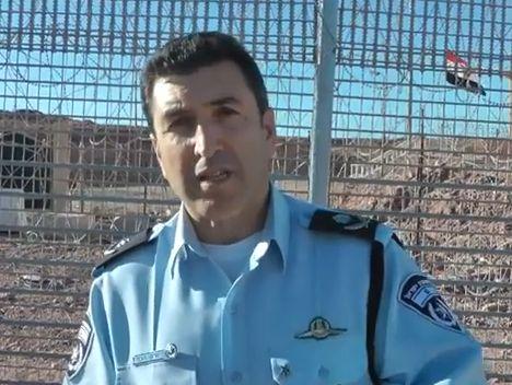 מפקד מחוז דרום במשטרה בביקור ראשון באילת