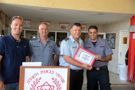 צוות לוחמי אש סיים קורס חילוץ מיוחד
