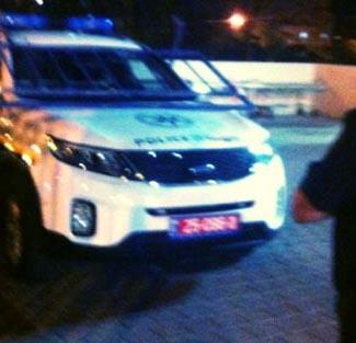 הרס ניידת משטרה מכיוון שלא היה מרוצה מהטיפול הרפואי ב'יוספטל'