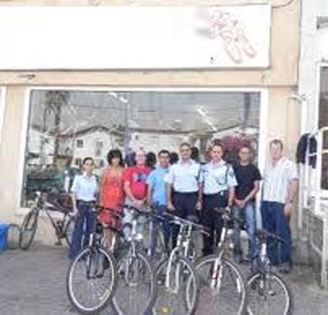 תקיפה בחנות האופניים