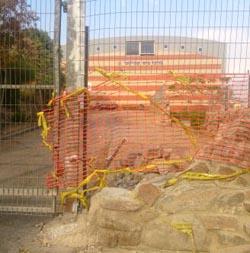 תוקנה הגדר שקרסה ב'עציון גבר'