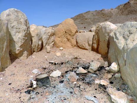 ל''ג בעומר: מדורות השחיתו את האתר הארכיאולוגי