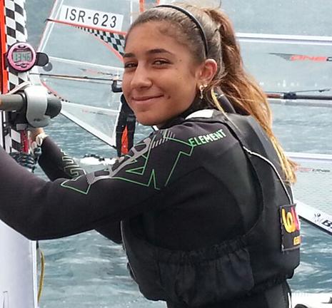 גלישה: פתיחה טובה לגולשת נוי דריהן מאילת באליפות העולם לנוער בפלורידה