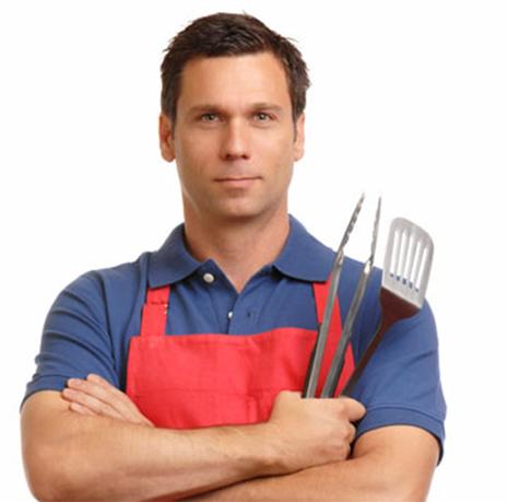 גבר גבר במטבח