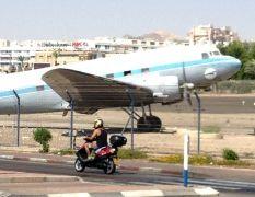 ראש העירייה מבקש: לטפל במטוס ה'דקוטה'