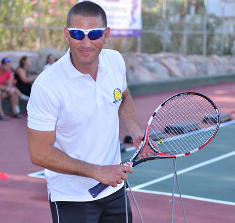 ''מאילת עוד ייצא אלוף הארץ בטניס''