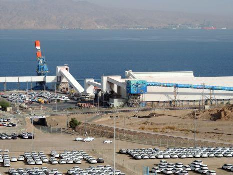 השביתה בכי''ל פגעה קשות בנמל אילת