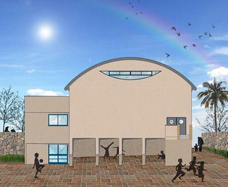 החלה בניית אולם ספורט בבית ספר 'גלים'