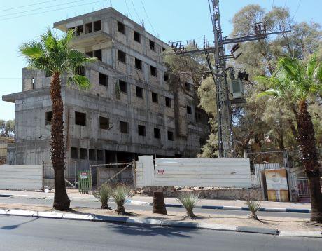 המבנה במרכז העיר הפך למרכז פשע ואלימות