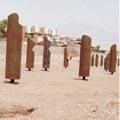 חמישה פסלי מתכת נעלמו בוואדי שחמון