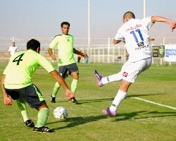 כדורגל: בני אילת- מכבי יבנה 1: 1