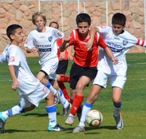 כדורגל נוער-הילדים ניצחו במשחק העונה