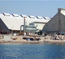 חשש: מחסן האשלג בנמל מזהם את שכונת שחמון