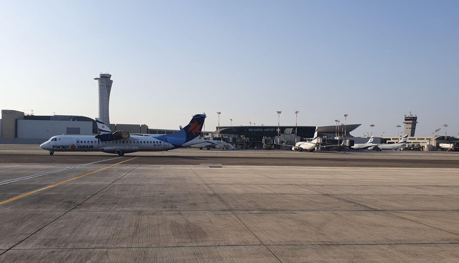 טיסות הפנים לאילת חוזרות לטרמינל 1