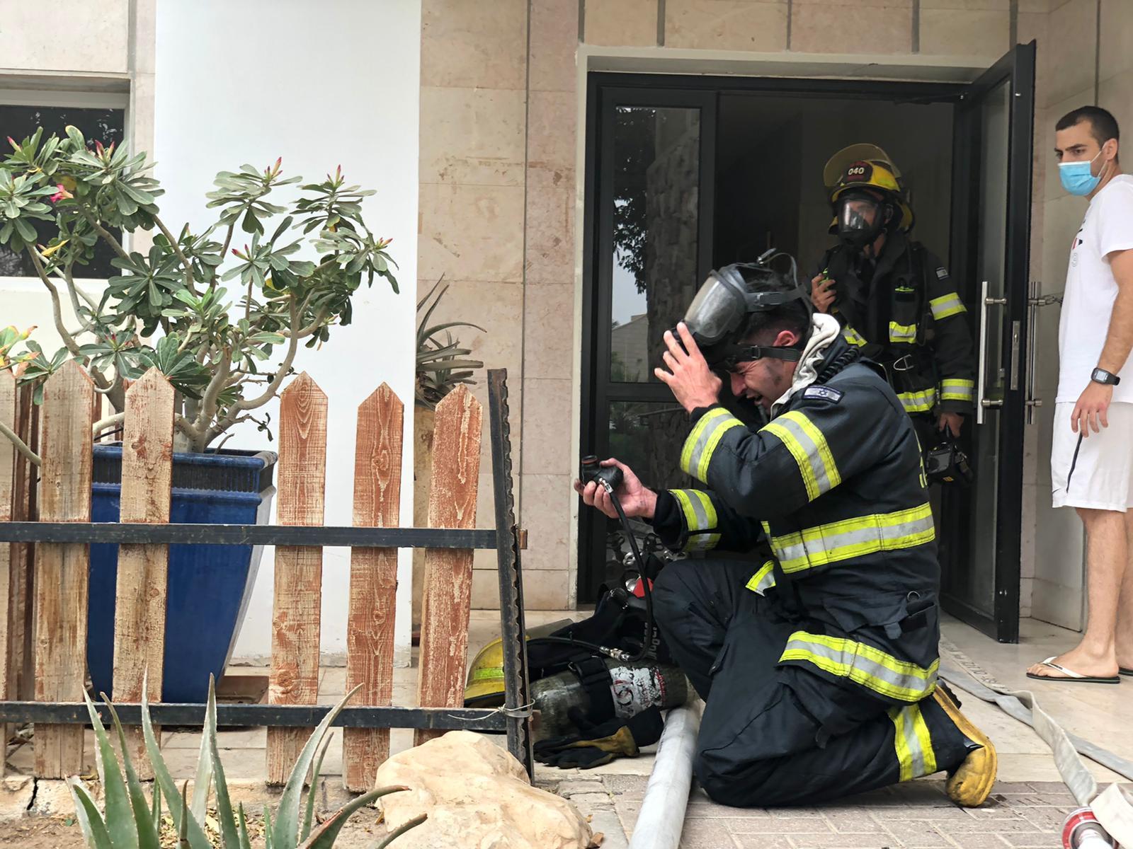 סיכום לאירוע השריפה ברחוב זהרון 13