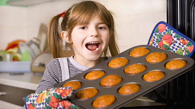 ילדים מבשלים שבועות