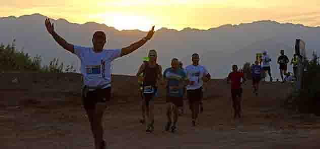 מרתון מדברי-אהבה על מסלול המרתון