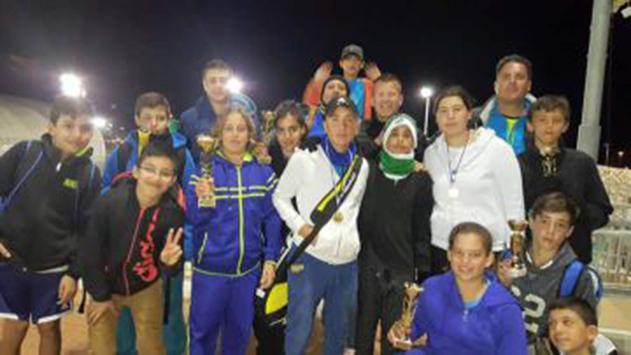 ילדי מרכז הטניס כבשו את חיפה