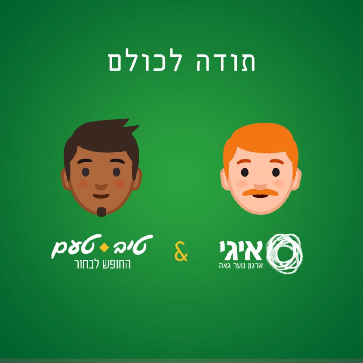 רשת טיב טעם בחזית המאבק החברתי: תומכת בקהילה הגאה ובארגון איגי, תחת המסר 'החופש לבחור'