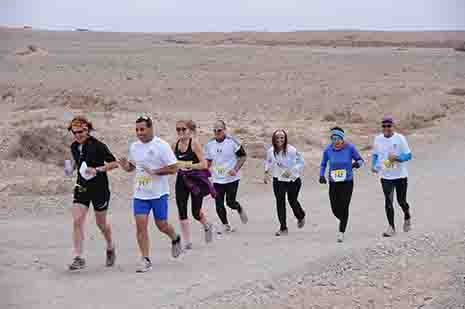 משטרת ישראל סיימה את הערכותה לקראת אבטחת ''המירוץ המדברי'' באילת.
