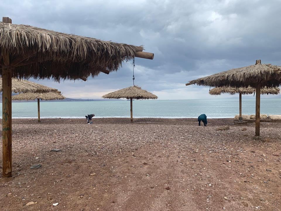 מאות מתושבי אילת התגייסו לניקוי החופים