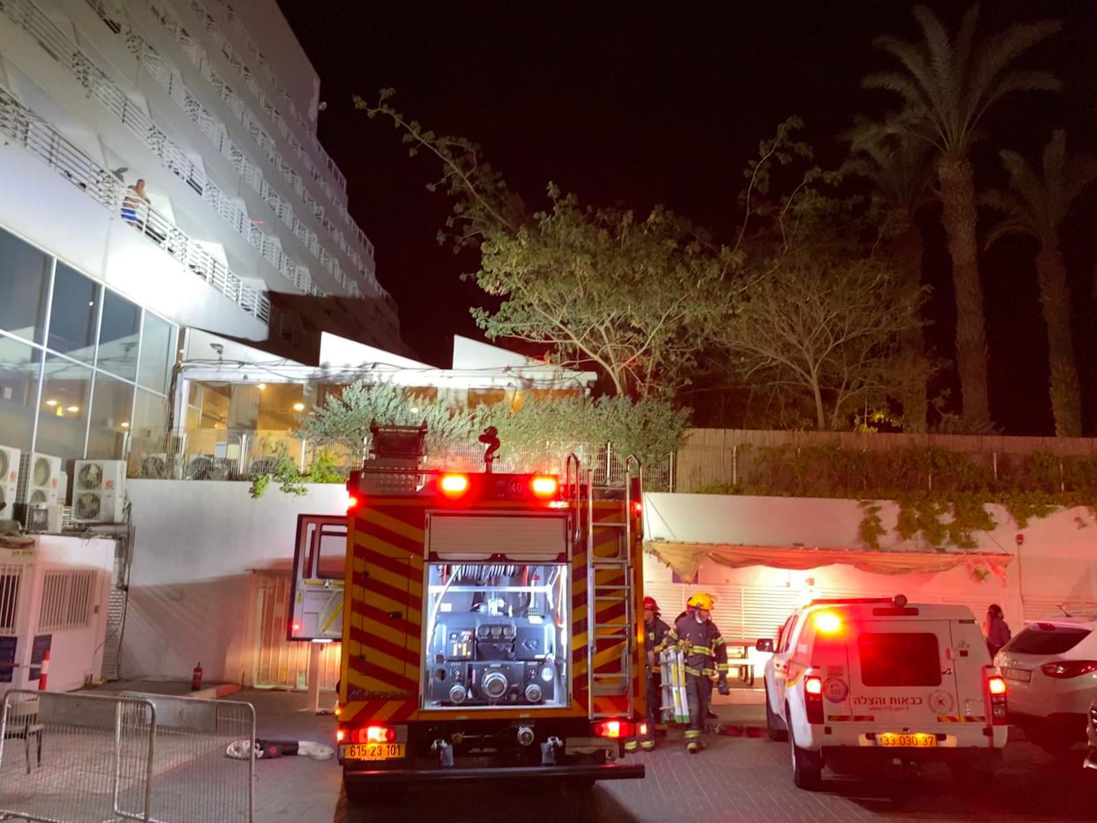 שריפה במלון באילת