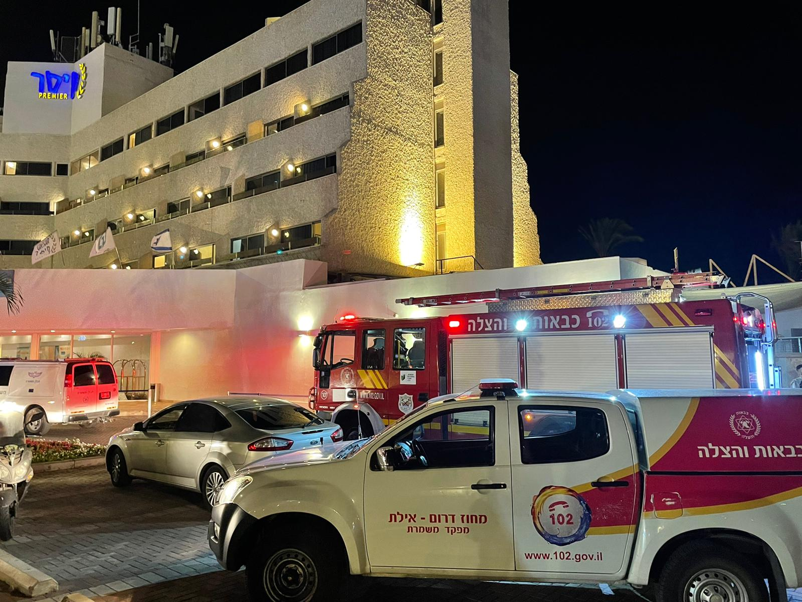 פיצוץ במלון קיסר באילת