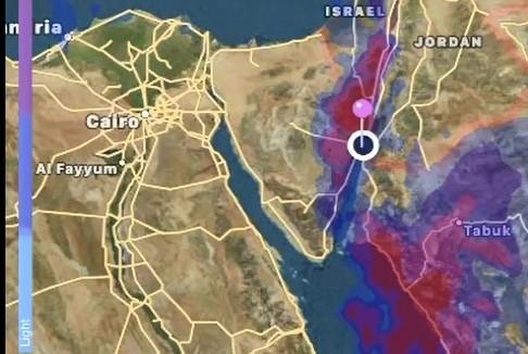 צפו באפיק ים סוף: חשש לשיטפונות באילת ובערבה