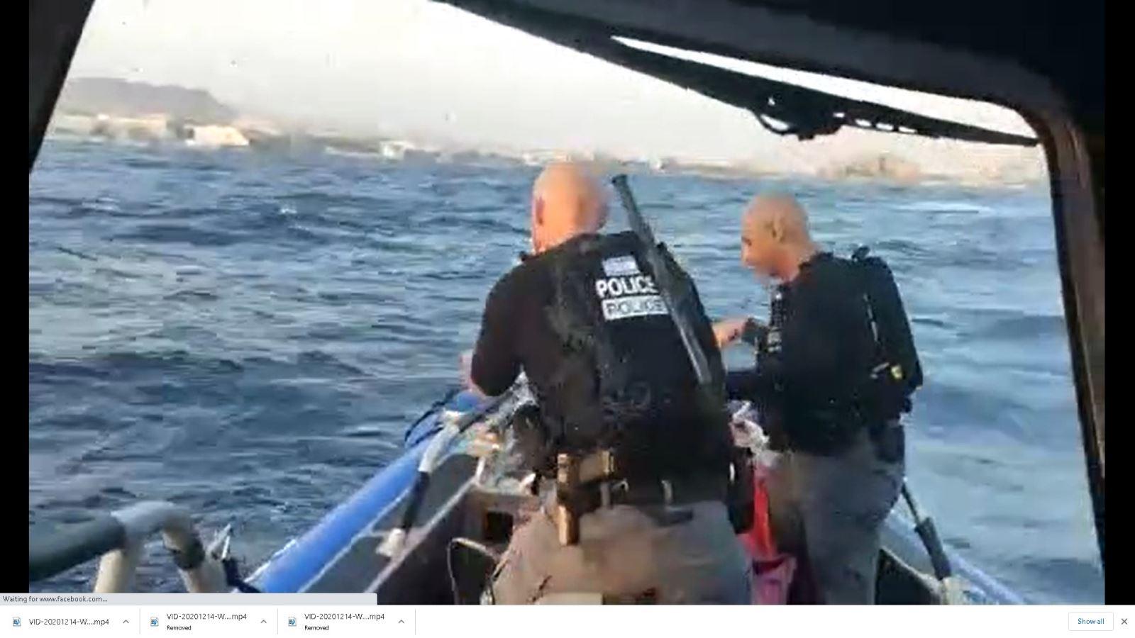 חולץ גולש קיט שנסחף ללב מפרץ אילת
