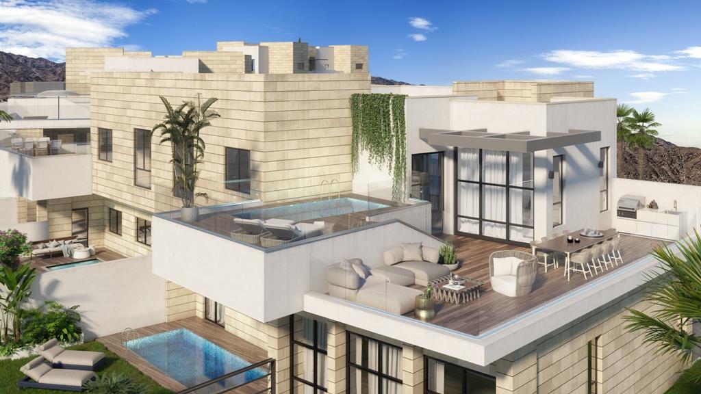 בניית הפרויקט ''נופי בראשית''באילת בעיצומה, - מעל 65% מהדירות נמכרו