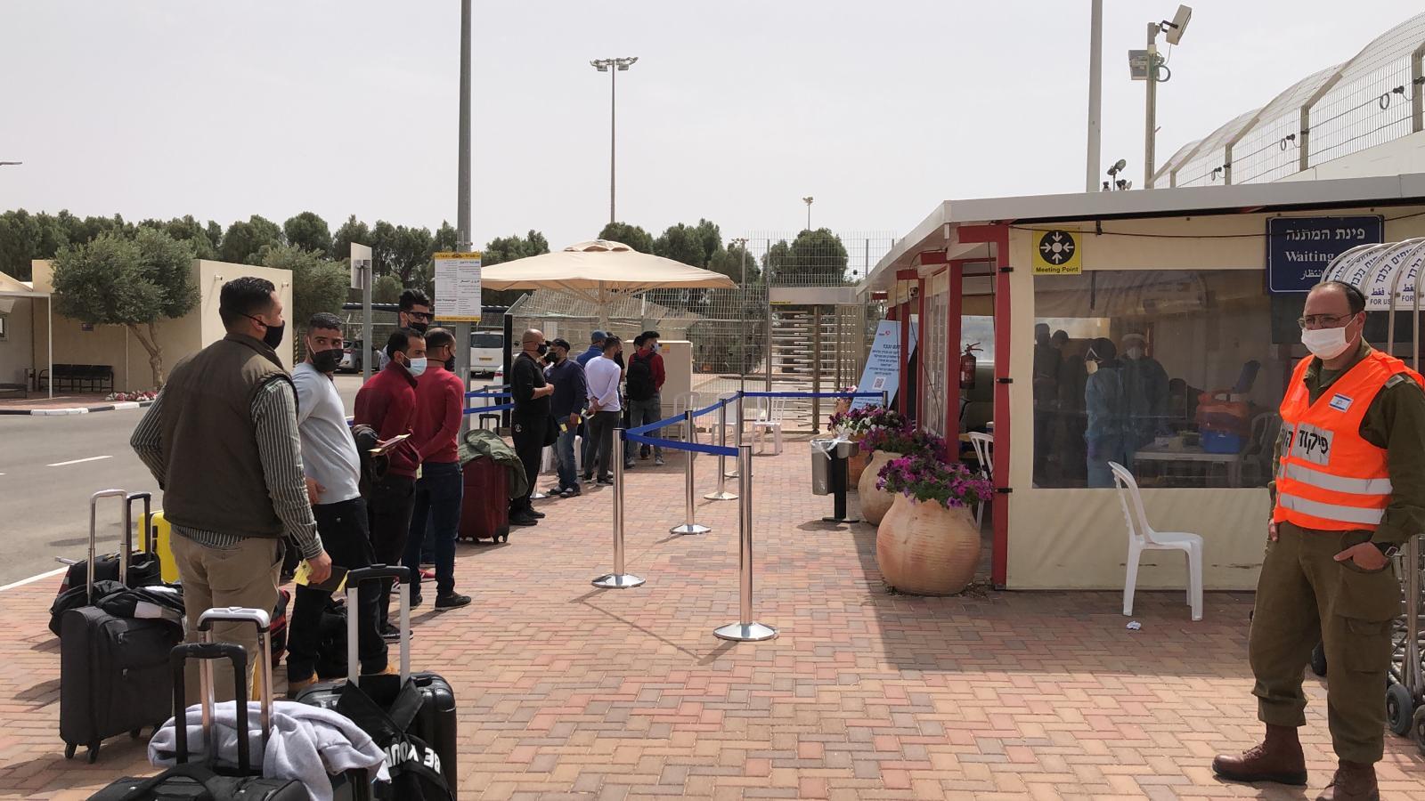 עשרות עובדים מירדן נכנסו לאילת הבוקר