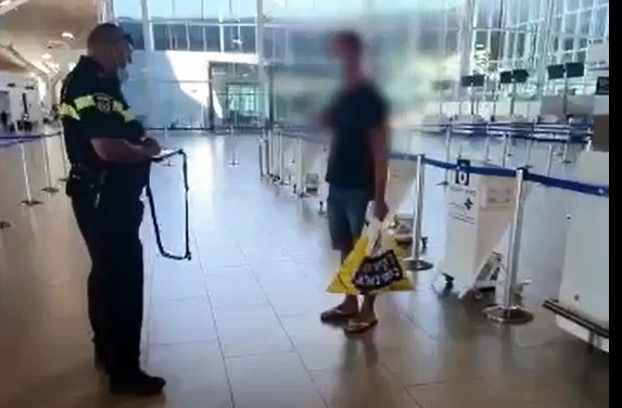 צפו: המשטרה עצרה ששה מפרי בידוד שניסו לטוס מאילת