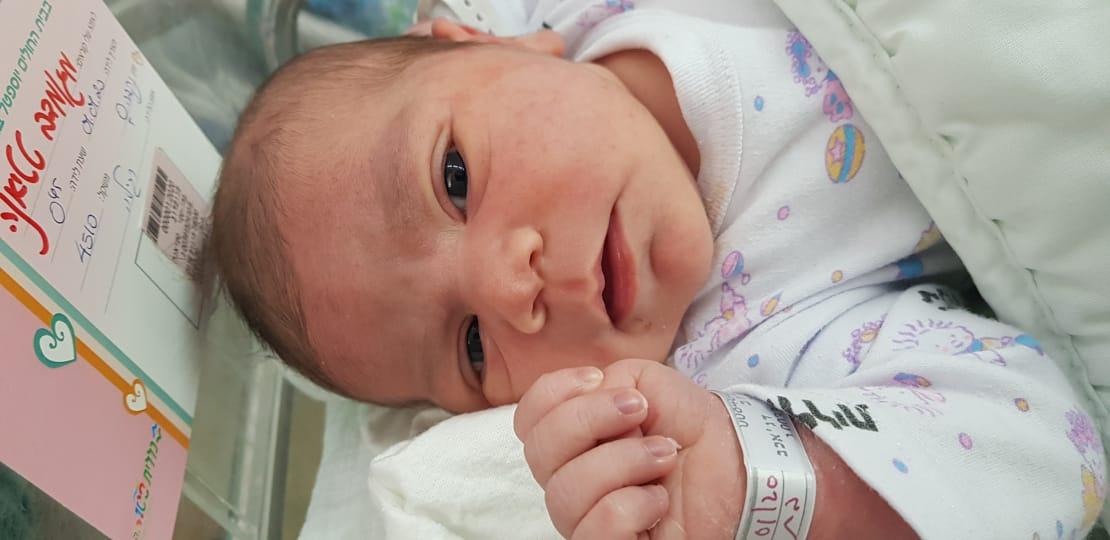 מזל טוב: נולדה התינוקת הראשונה לשנת 2020 ביוספטל אילת