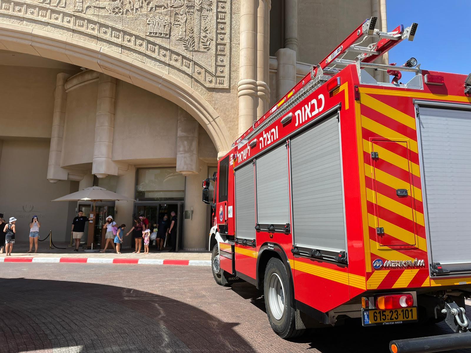 שריפה במלון ״מלכת שבא״ באילת