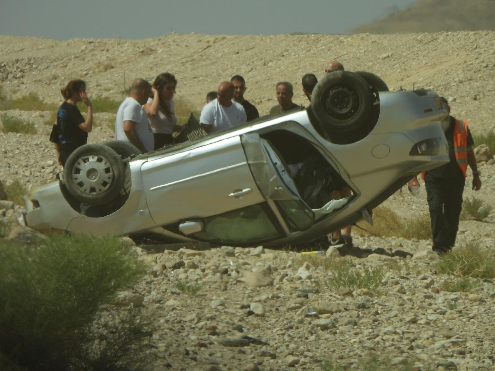 תאונת דרכים בצומת שדה רמון