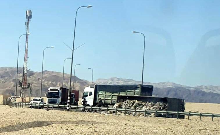 תאונת דרכים סמוך לצומת שדה רמון