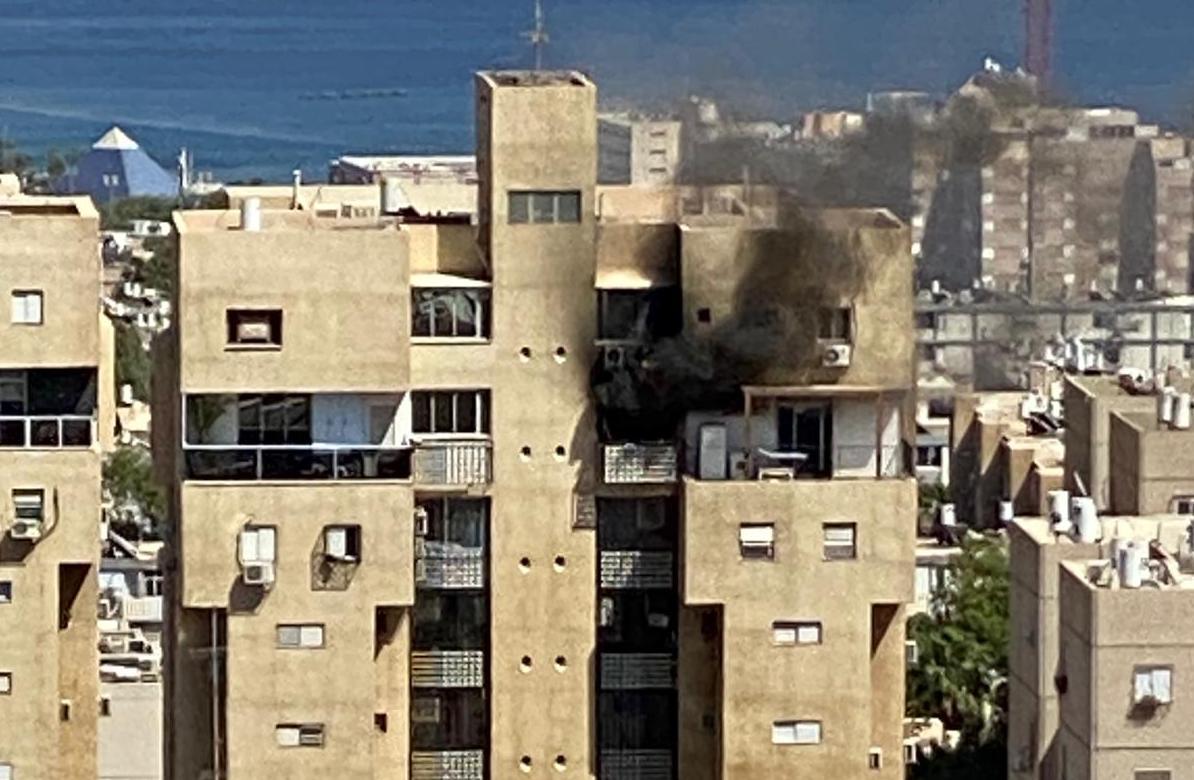 שריפה בדירת מגורים באילת