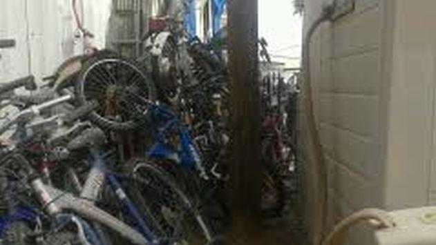 המשטרה תשמיד אופניים