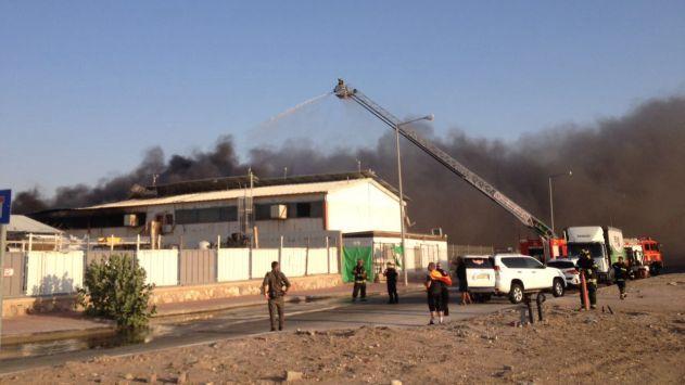 לוחמי האש השתלטו על השריפה הגדולה ב'שחורת'